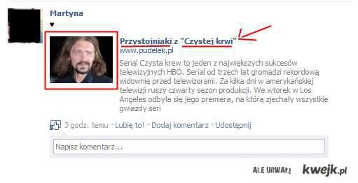 """Polski """"przystojniak"""" w TB?"""