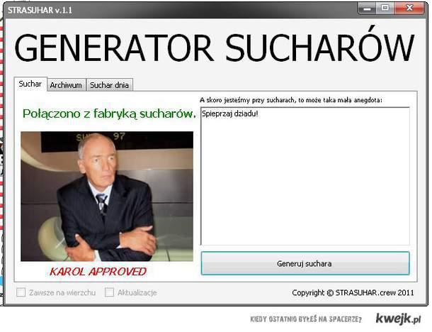 Generator Sucharów
