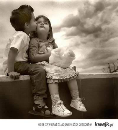 Dziecięcy buziak ;)