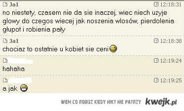 rozmowy o kobietach;)