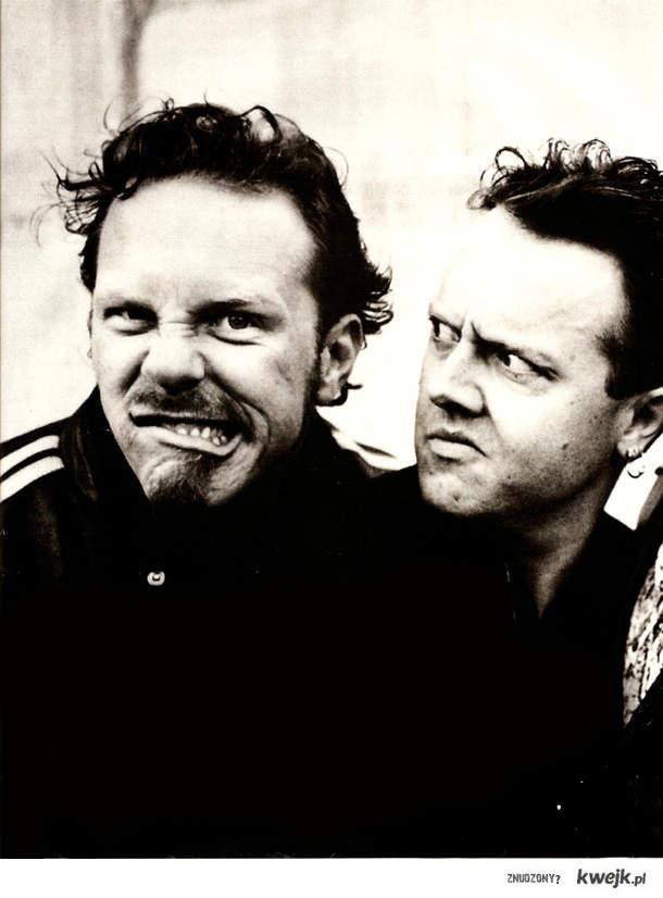 Lars and James. Metallica