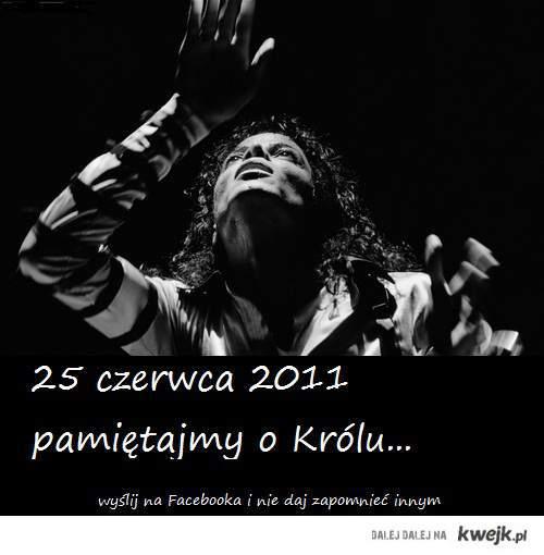 Michael Jackson rocznica śmierci