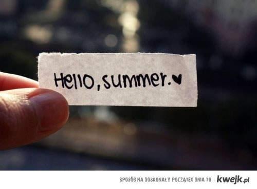 witajcie, wakacje!