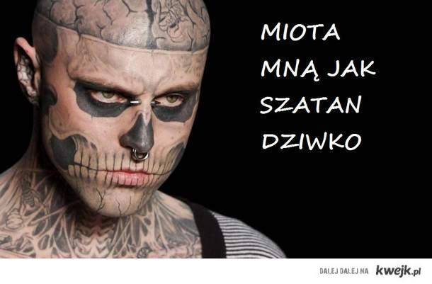 tatuaż boj