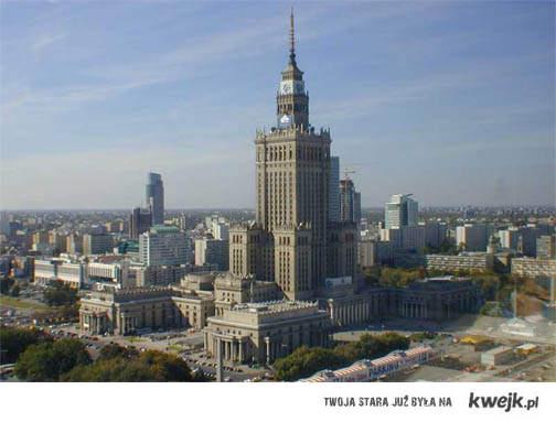 A morał tej bajki jest krótki i niektórym znany: Warszawy nikt nie lubi bo tam mieszkają chamy.