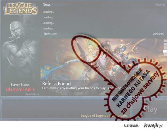 KARNY KUTAS DLA RIOT GAMES