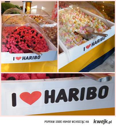I LOVE HARIBO.