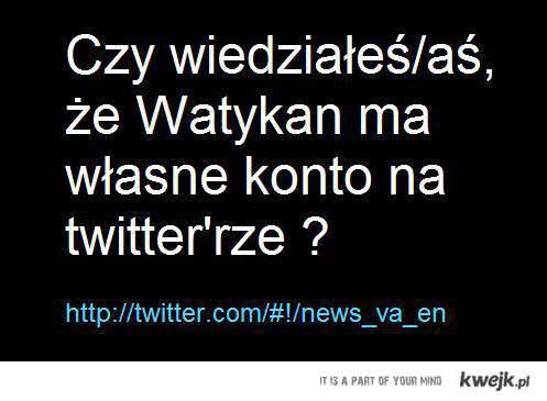 Watykan na Twitter'rze