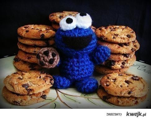 cookie monster ;d