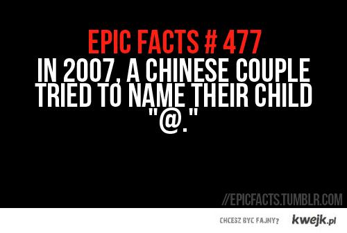 epic fact