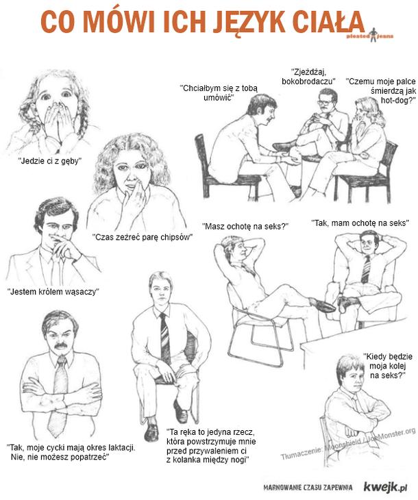 mowa ciała