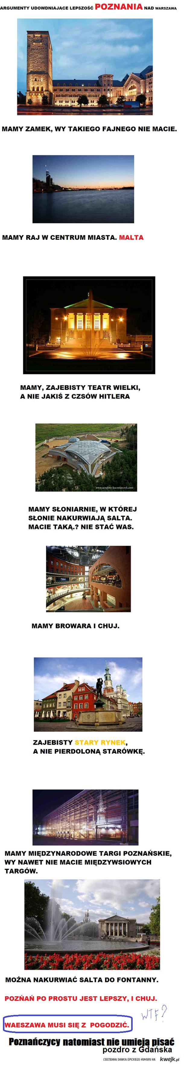 Gdańsk > Poznań