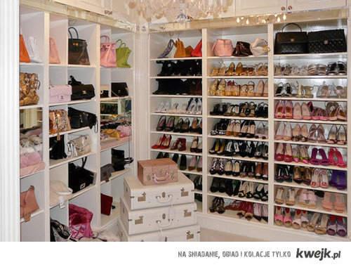 garderoba o której marzy każda dziewczyna!