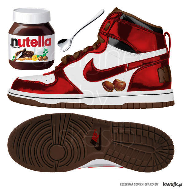 Nutella shoes