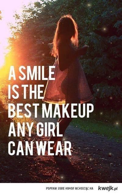 smile, girl !