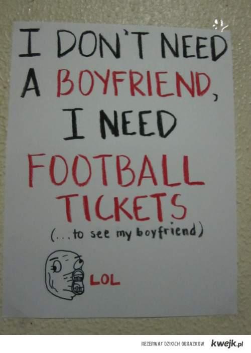 I don't need a boyfriend