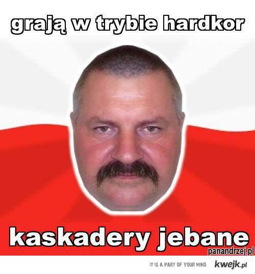 Pan Andrzej radzi.