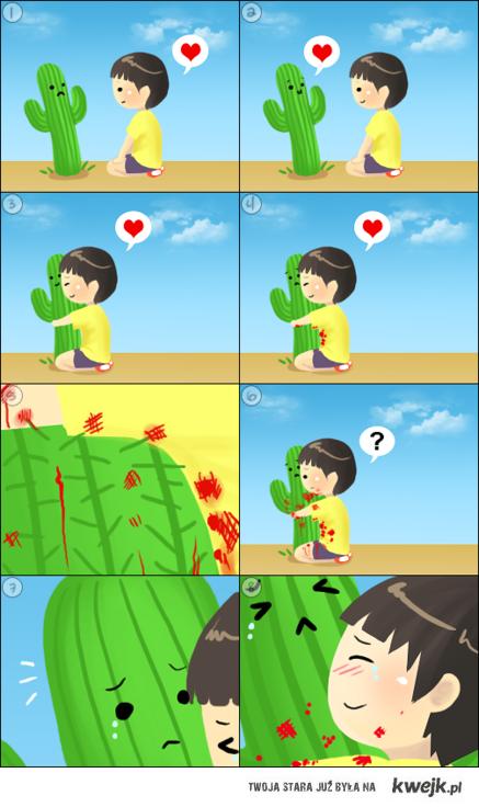 miłość boli