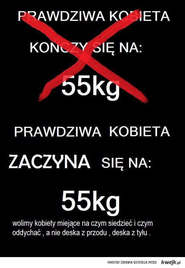 waga powyżej 55 kg , GIT !