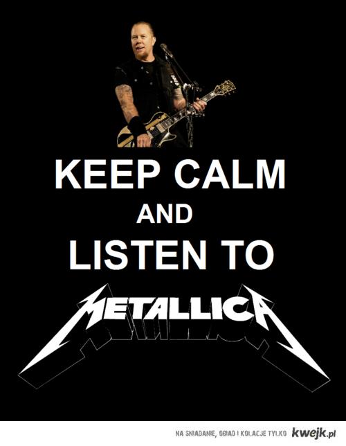 Keep calm Metallica