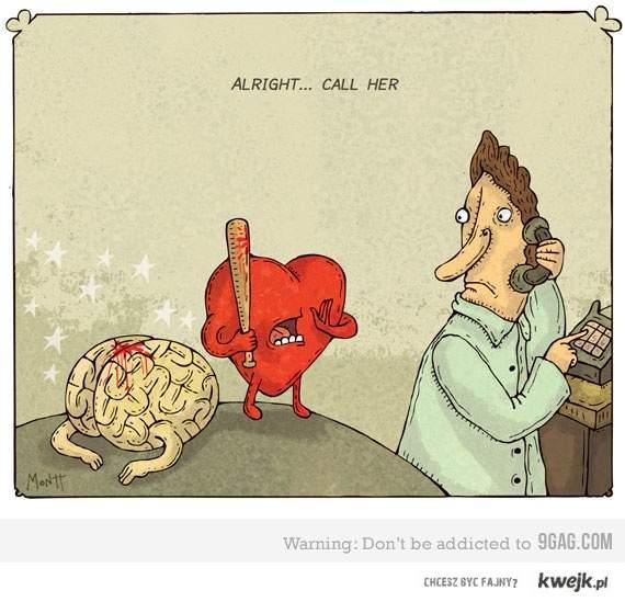serce vs mózg