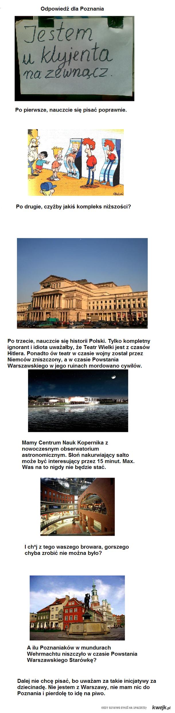 Warszawa dla Poznania