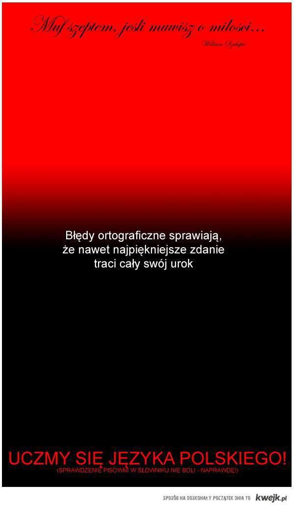 Język polski nie bolil