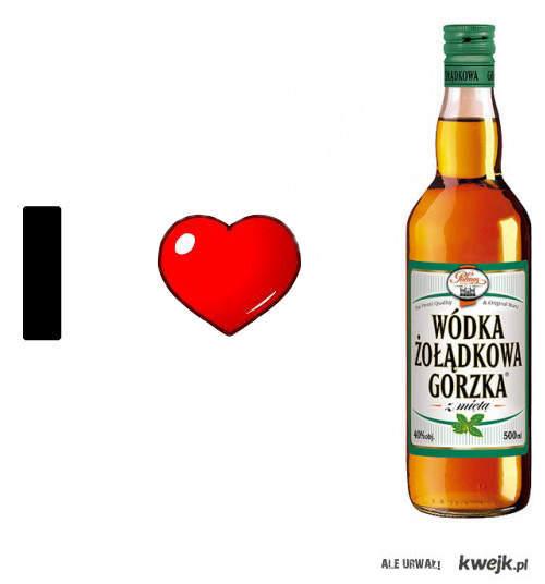 I LOVE GORZKA Zoladkowa