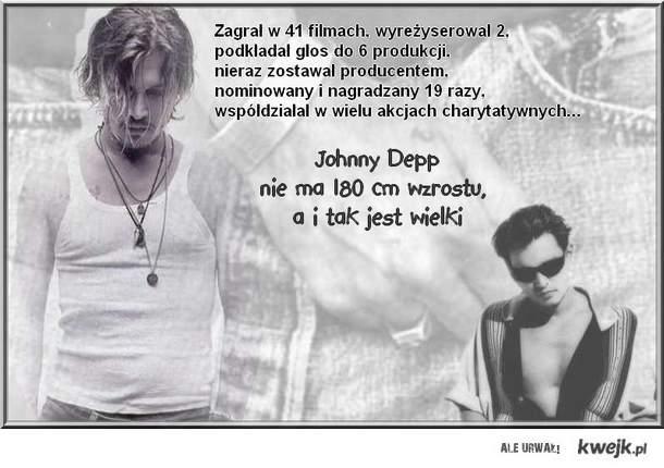 Johnny Depp - mały, wielki człowiek