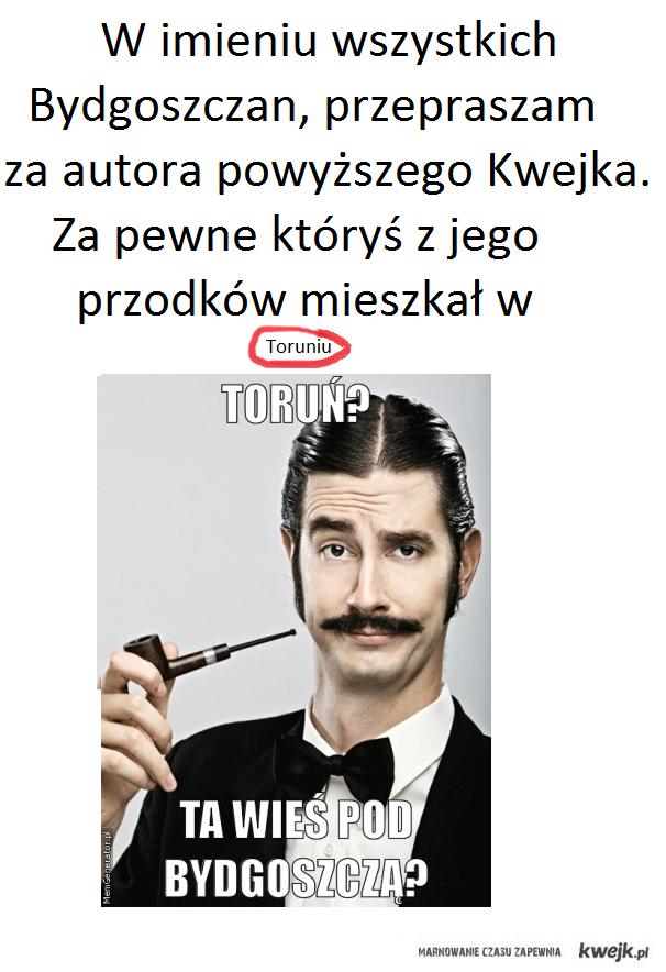 Toruń vs. Bydgoszcz