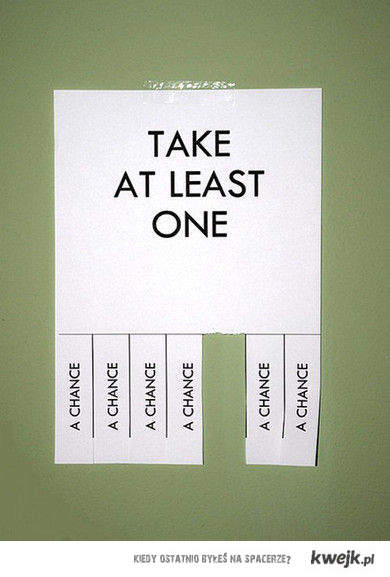 take one :)