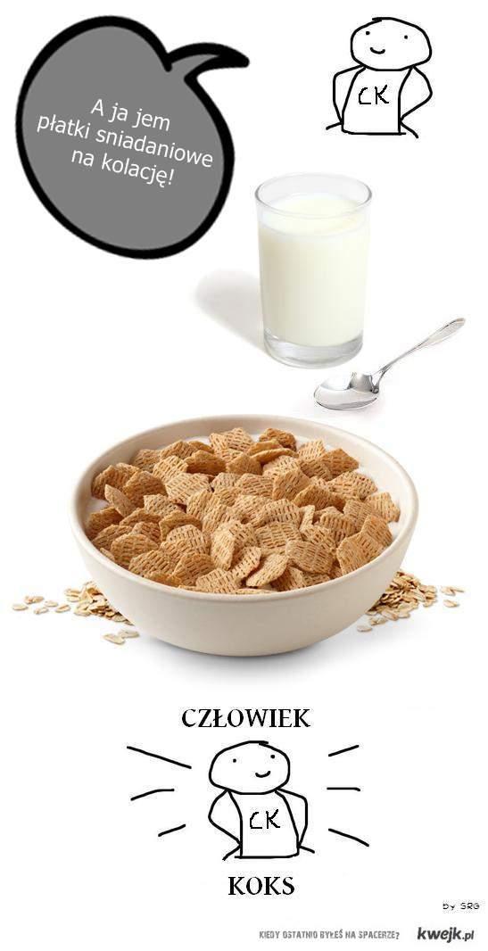 CK płatki śniadaniowe