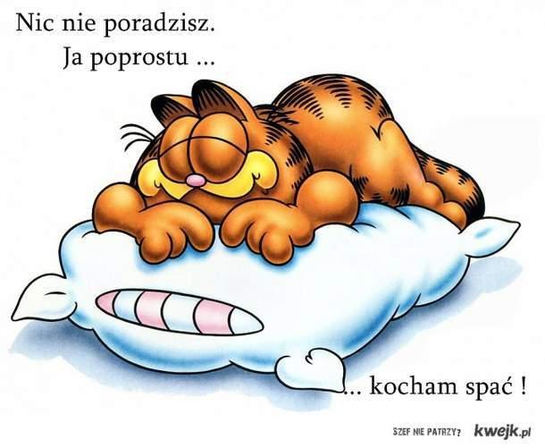Kocham spać!