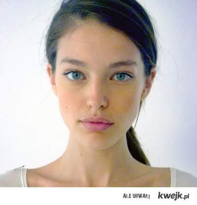 dziewczyna bez makijażu